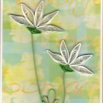 Kavel_13_Filigraankaart 1 Witte bloemen